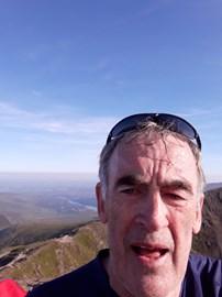 Summit of Snowdon -views fantastic!