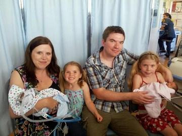 1st Family photo in Watford SCBU