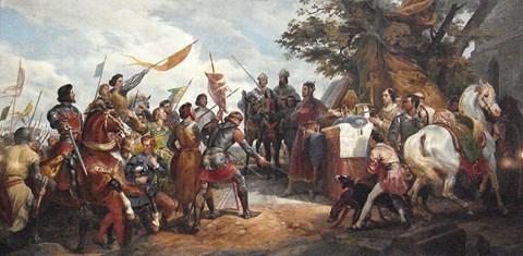 King Phillipe at Bouvines