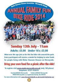 Family Fun bike ride - DONATE here