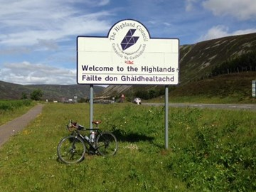 Made it into the Highlands
