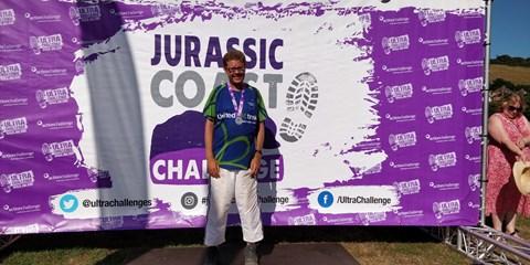 Jurassic Coast Finisher Medal