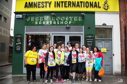 Last year's Team Amnesty