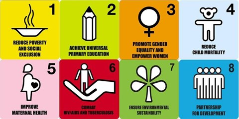 Millennium Development Goals - a step in the right direction.