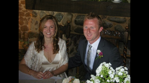 From happy times - Our wedding - May '08