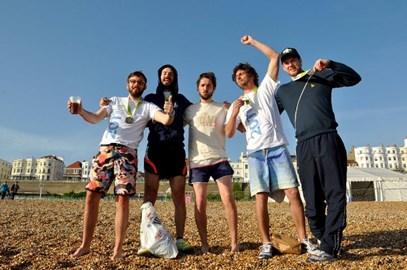 The Team triumphant!!