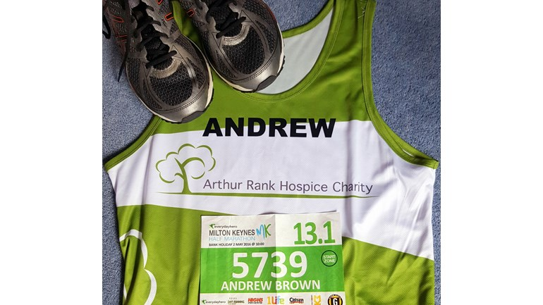 official photos 8438f aeab9 Richard Andrew Brown is fundraising for Arthur Rank Hospice ...