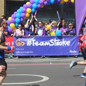 Our #TeamStroke cheer squad!
