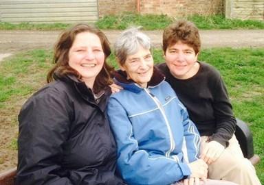 Kate, Mum & Emma