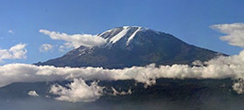 Kili - the largest free standing volcano