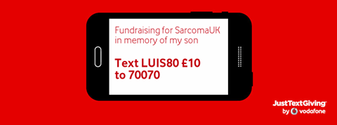 you can text your donations! xx