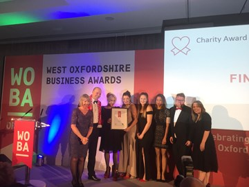 Guideposts were finalists at the West Oxfordshire Business Awards this year, here is our photo with some of the community opportunity teams
