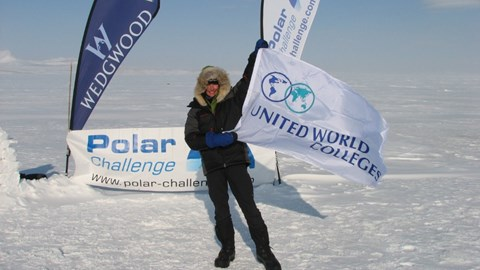 Yoyo on the North Pole in 2008
