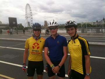 Day 3 - Boys made London-Waterloo Bridge