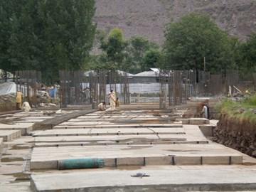 September 2010 2 tonnes steel Foundation