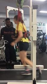 Treadmill work at Neurofit360
