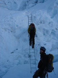 Everest Ice Fall 2009