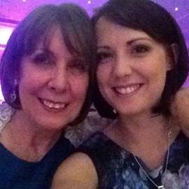 My gorgeous mum and I