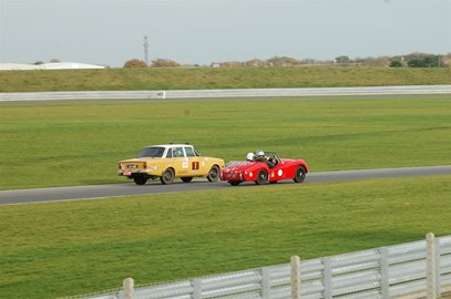 Charity day at Snetterton