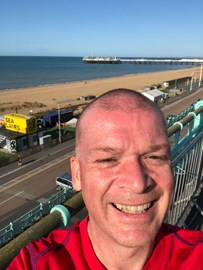 First 3.1 miles in sunny Brighton!