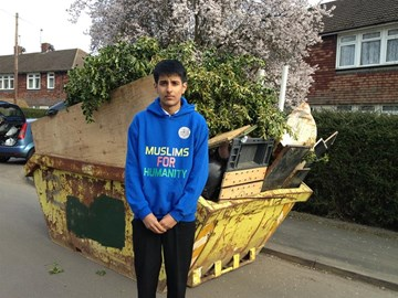 Zafar Ahmad, one of the flood heroes selected by ITV Daybreak