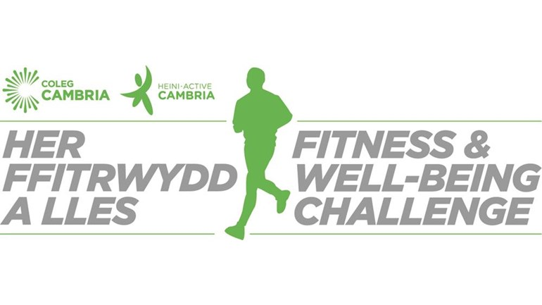 Coleg Cambria Fitness and Well-being Challenge Active Cambria is