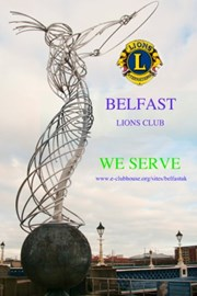 Belfast Lions Club information card
