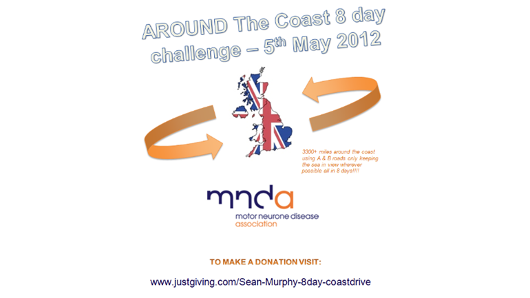 Sean Murphy Is Fundraising For Motor Neurone Disease