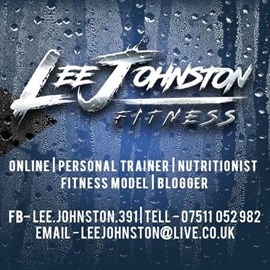Lee Johnson of LJ Fitness - my personal trainer