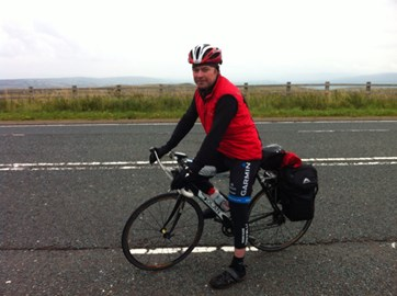 Huge thanks to everyone who has sponsored me while I've been on the ride. Only 150 miles to go. Can we break the £3000 mark?