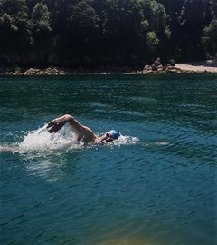 7 hour swim brixham to Torquay 25th july