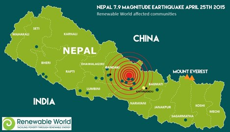 Renewable World communities affected by the Nepal earthquake