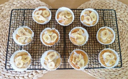 Lemon & Banana Muffins