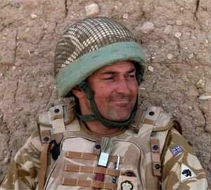 Lt Col Rupert Thorneloe MBE