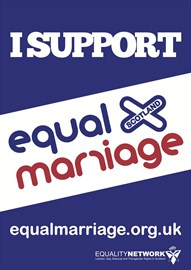 Show your support for Equal Marriage