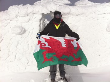 Top of Ben Nevis Nov 2010