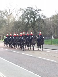 Training in Hyde Park