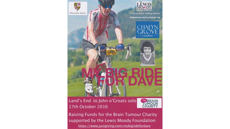 Michael Thompson Is Fundraising For Brain Tumour Charity (The