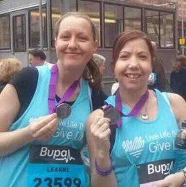 After the Manchester 10K (20.5.12)