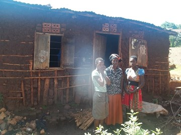 One of last year's projects - A Brick House for Nakandha Esther