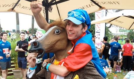 I am the horse (City2Sea 10k, Melb 2011)