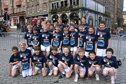Support Team Merchiston Mini&Junior Run