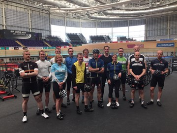 Alison's trip to the Chris Hoy Velodrome