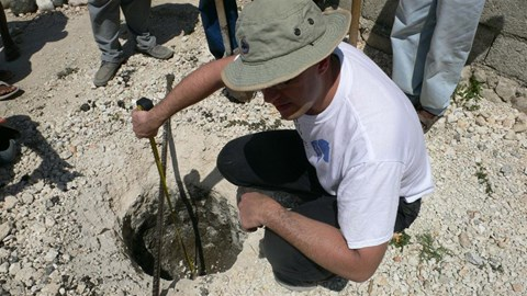 Soil survey in Haiti