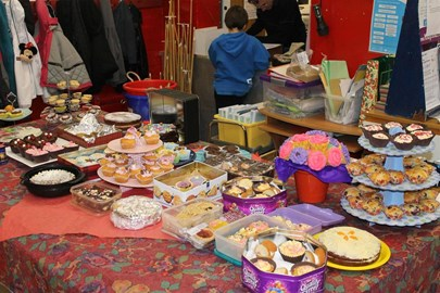 Cake bake at Armitage YC raises £154