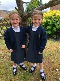 First day at big school.