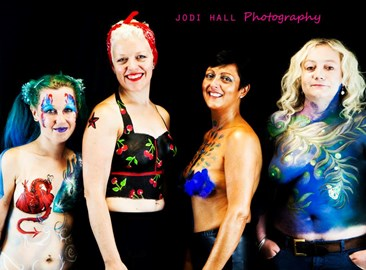 Picture from the Body Paint day taken by Jodi Hall:)