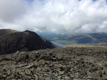 Scafell Pike summit 19 Jul 12