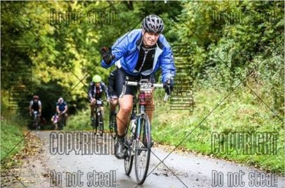 Early stages of Alun's epic 7hour+ ride for our appeal!