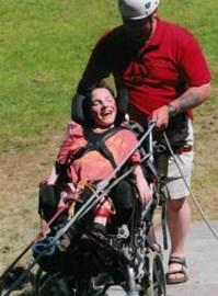 Wheelchair Abseil